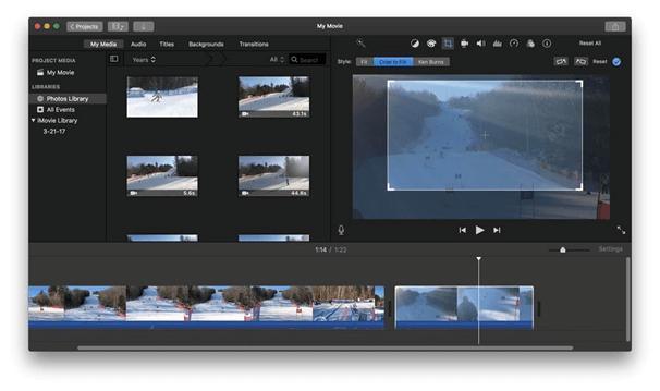 Apple iMovie - Best Mac Video Editing Software