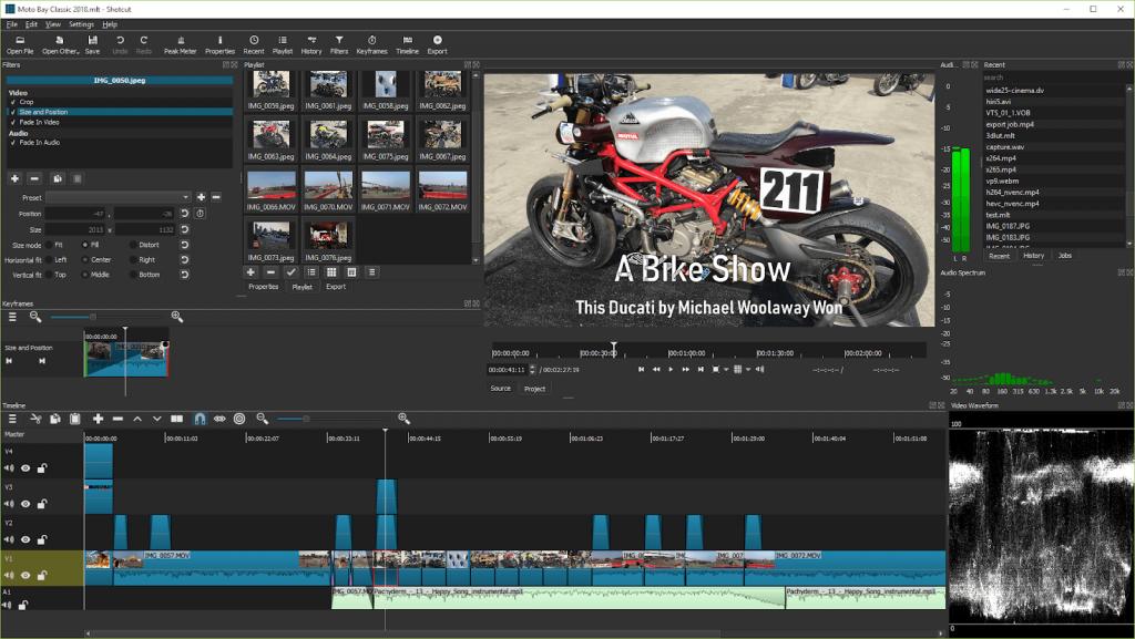 Shotcut - Video Editing Software 2020