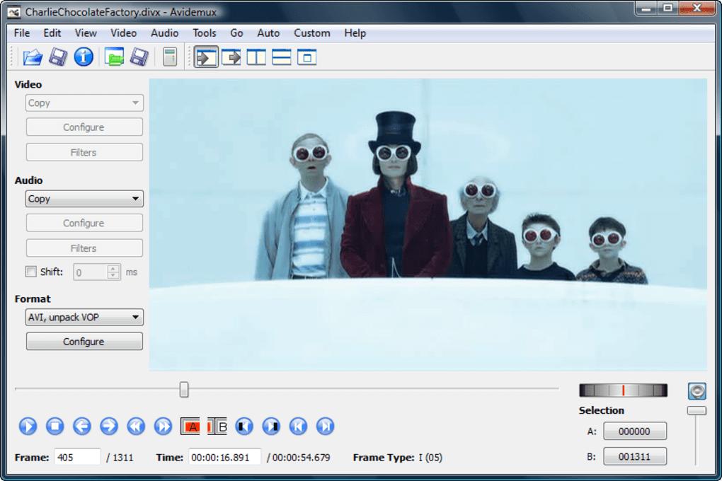 Avidemux - Best Free Mac Video Editing Software