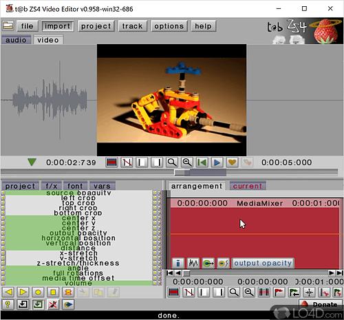 Trình chỉnh sửa video ZS4