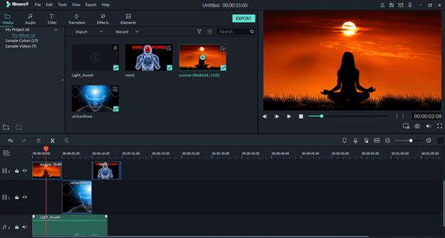 Filmora - Best Video Editing Software For MacOS