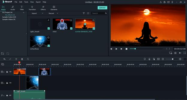 Filmora - Phần mềm chỉnh sửa video tốt nhất cho macOS