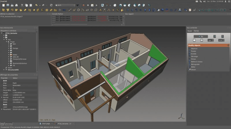 FreeCAD - Free Architectural Design Software