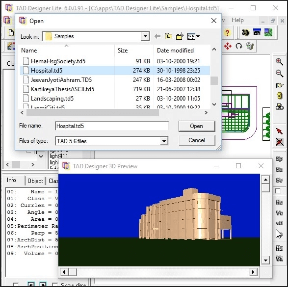 TAD - Best Free Architectural Design Making Software