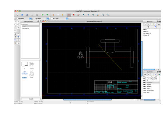 LibreCAD - Best Free Architecture Software