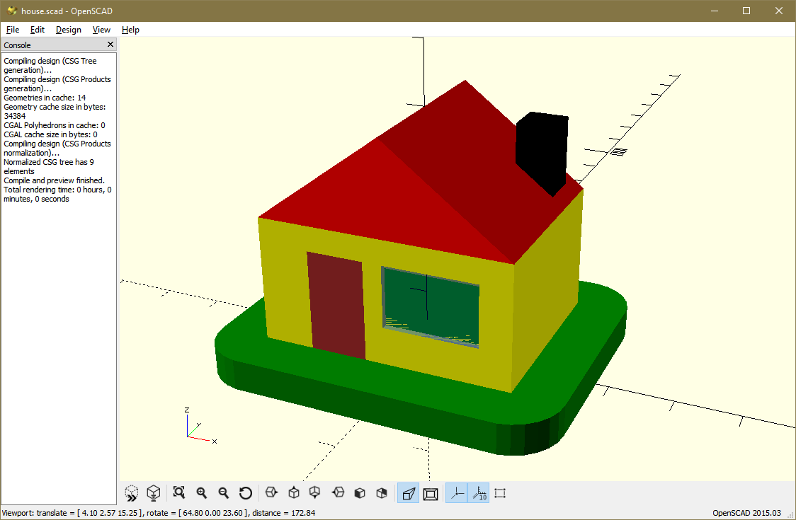 OpenSCAD - Free Architecture Software