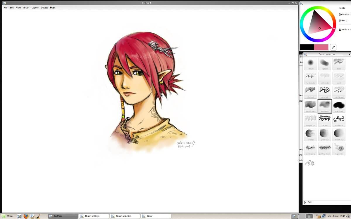 MyPaint - best drawing software