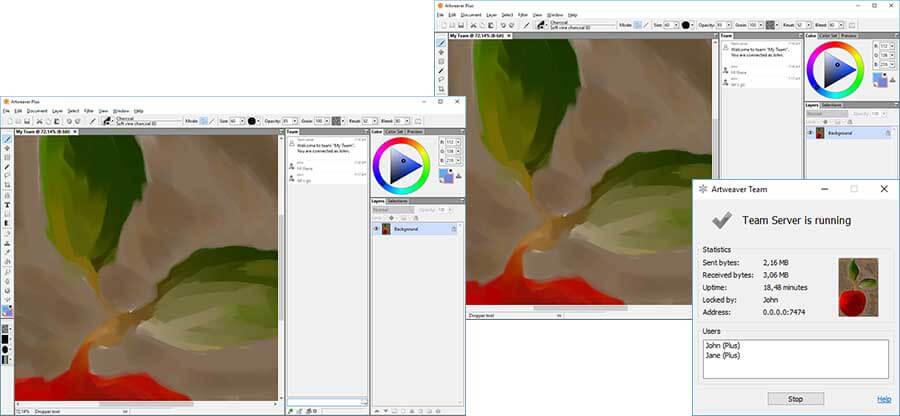 ArtWeaver Free - best free drawing software
