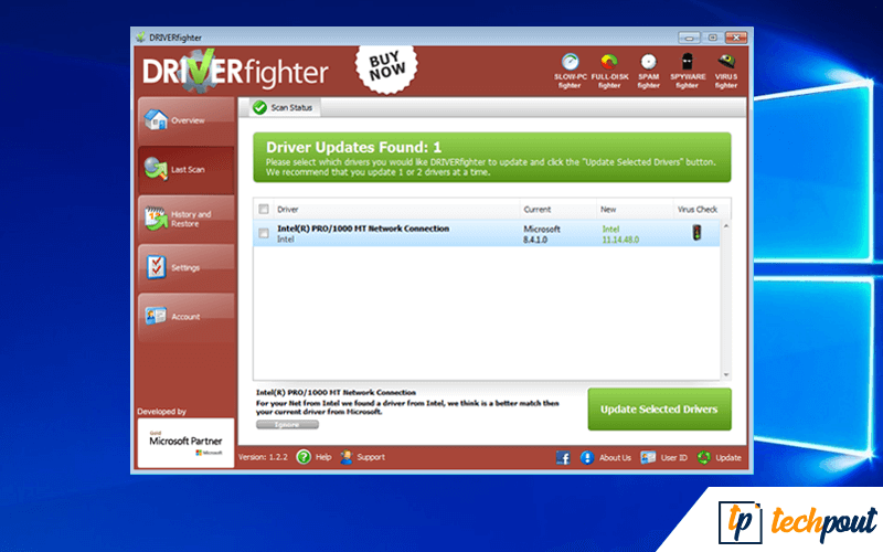 DRIVERfighter - Update Device Driver