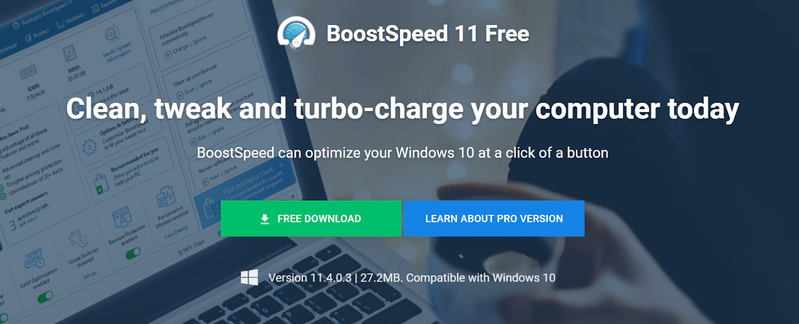 Auslogics BoostSpeed Software For Windows