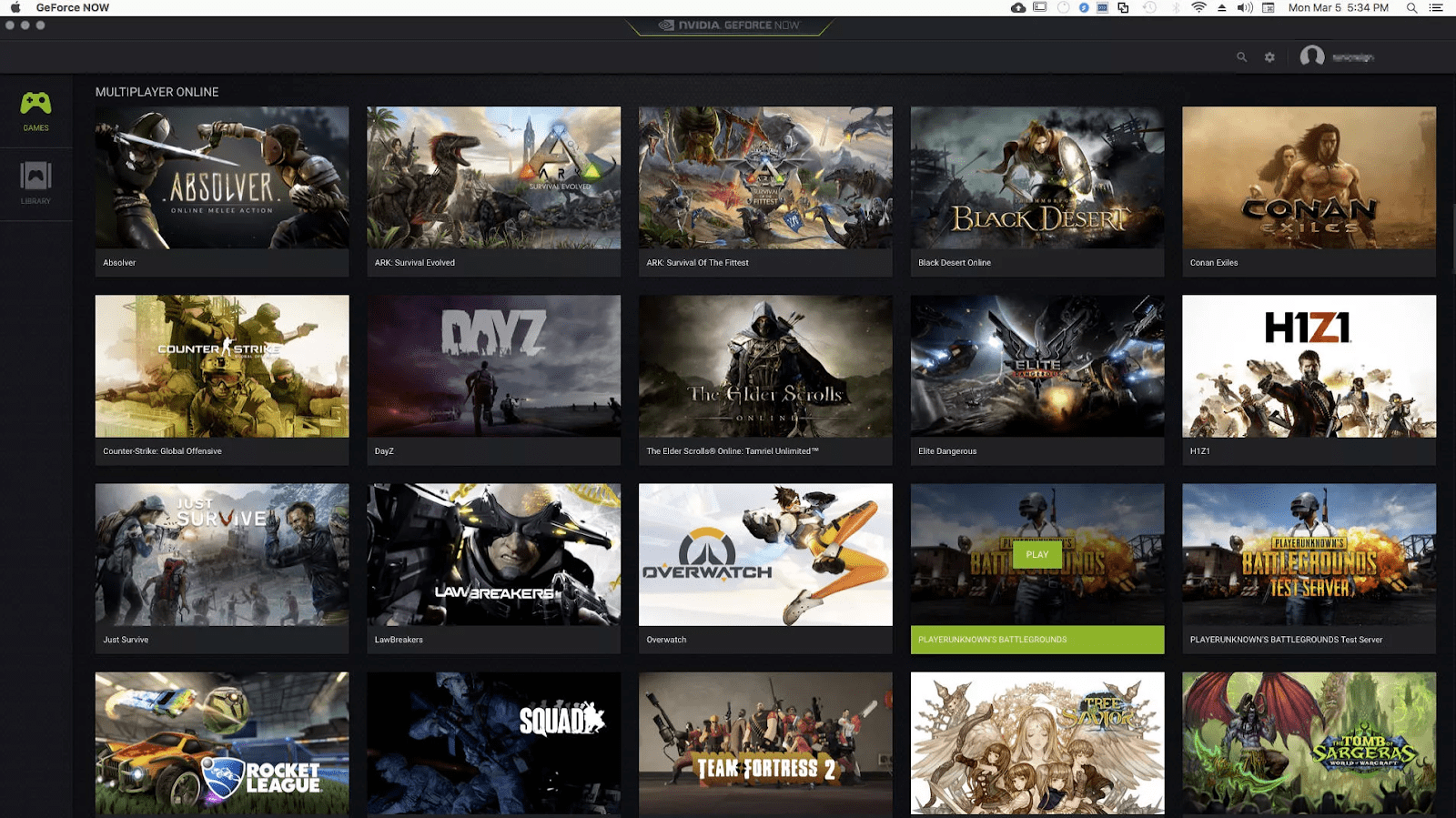 GeForce Now - Best Cloud Gaming Services