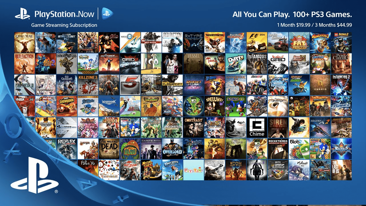 PlayStation Now - Best Cloud Gaming Services