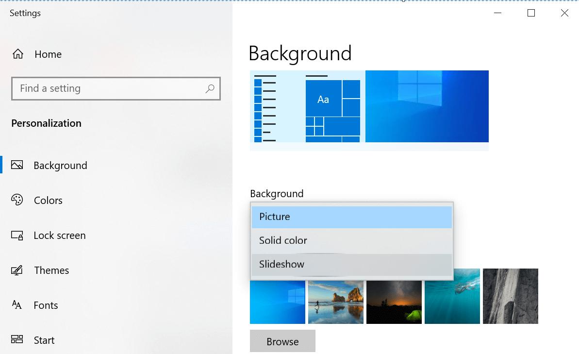 Set Live Wallpaper on Windows 10 PC