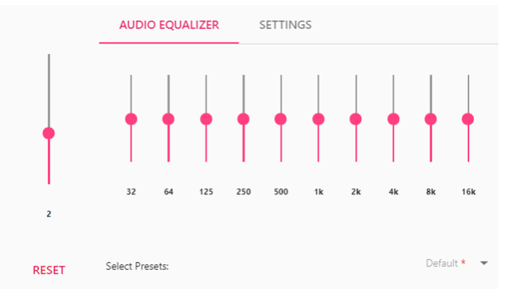 EQ Audio Equalizer