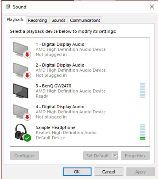 Windows 10 Sound Equalizer