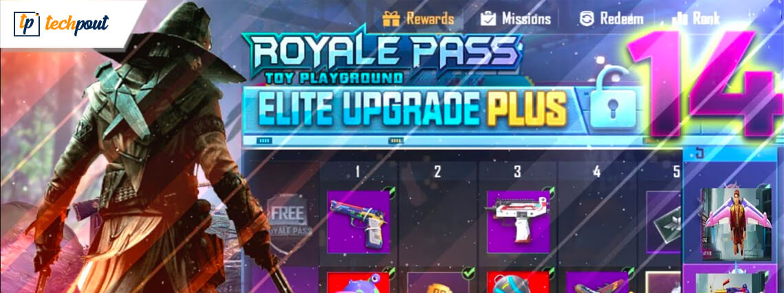 PUBG Mobile Season 14 Royale Pass: Release Date, Tier Rewards & More