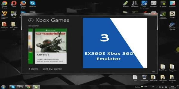 EX360E Xbox 360 Emulator