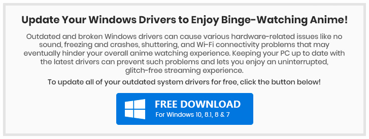 Update Your Windows Drivers