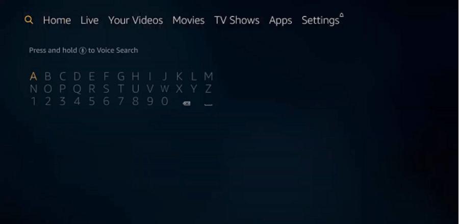 Open Search Box