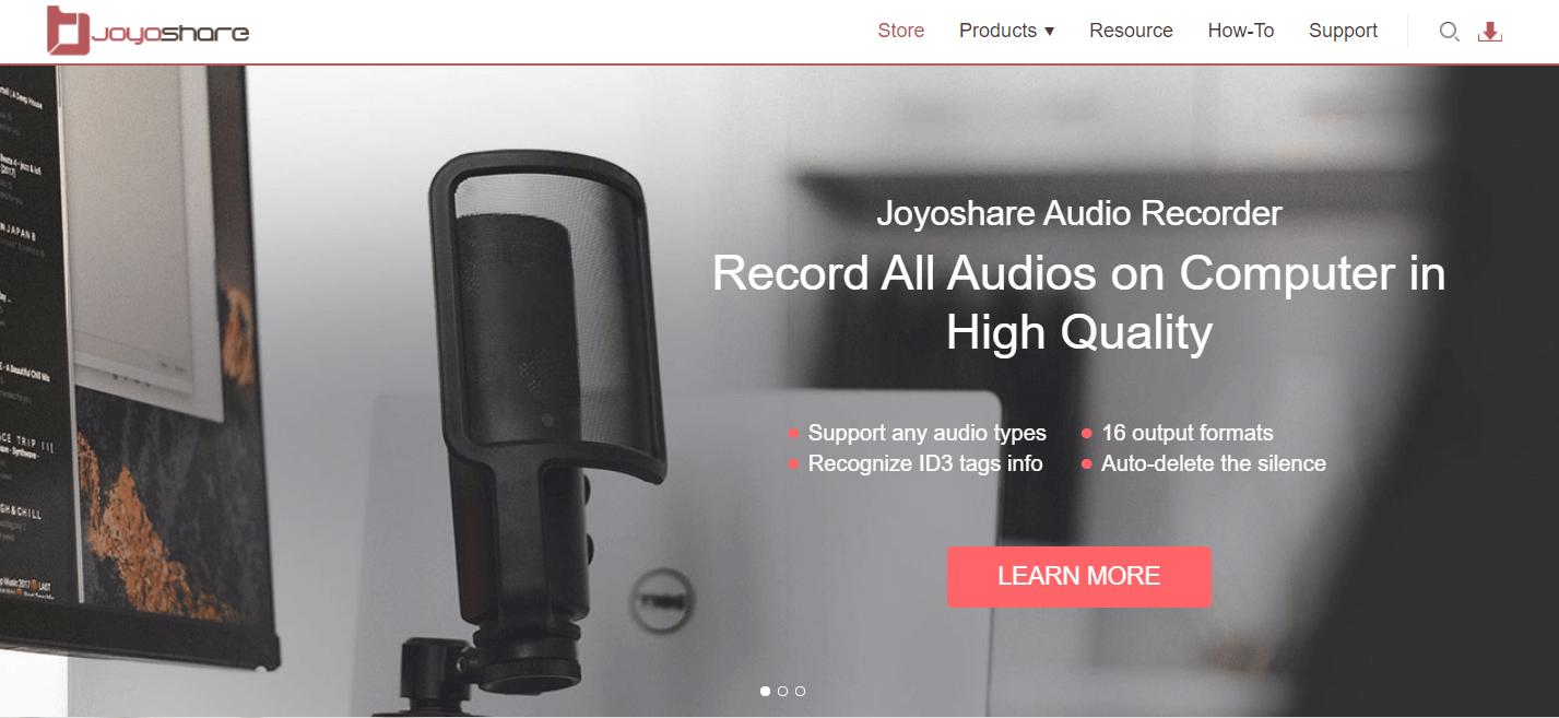 Joyoshare Screen Recorder
