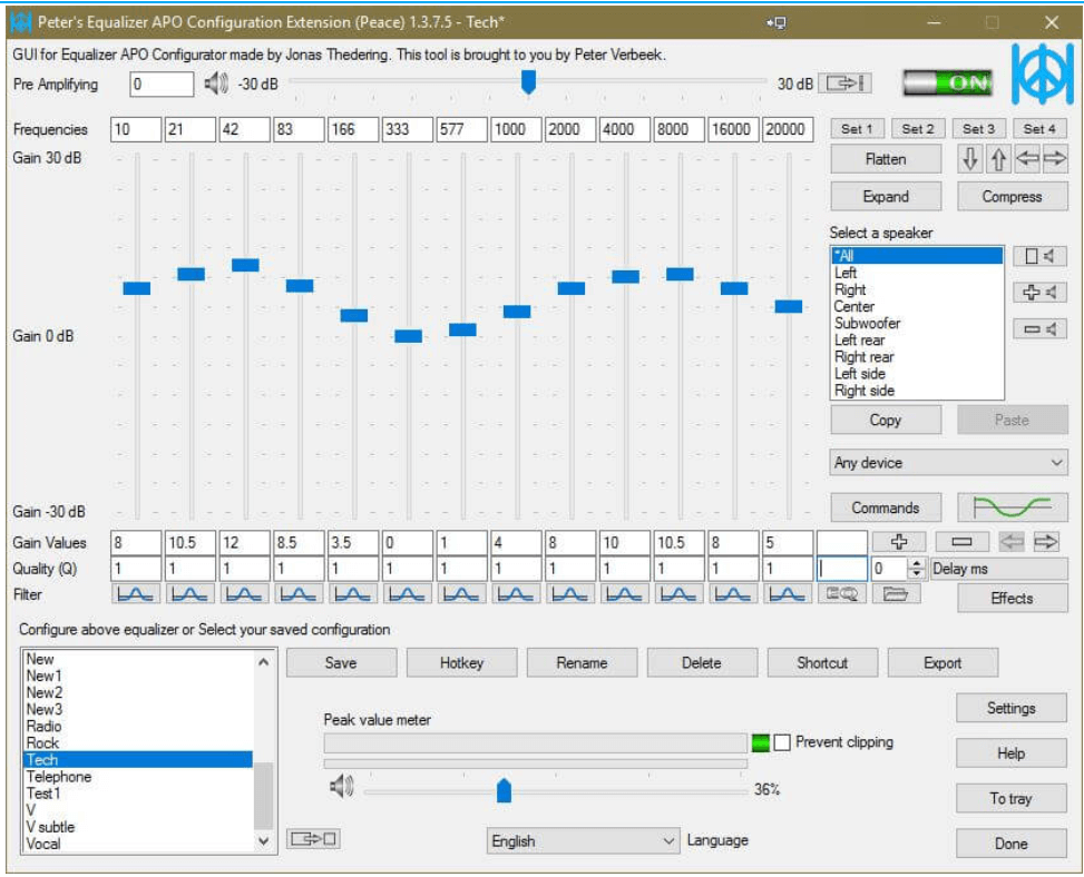 Equalizer APO - Bass Booster Software for Windows
