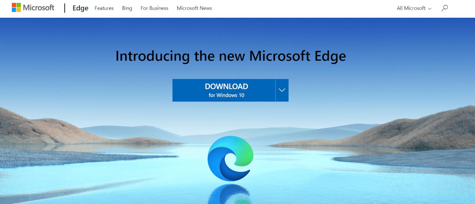 Microsoft Edge - Best Lightweight Browser