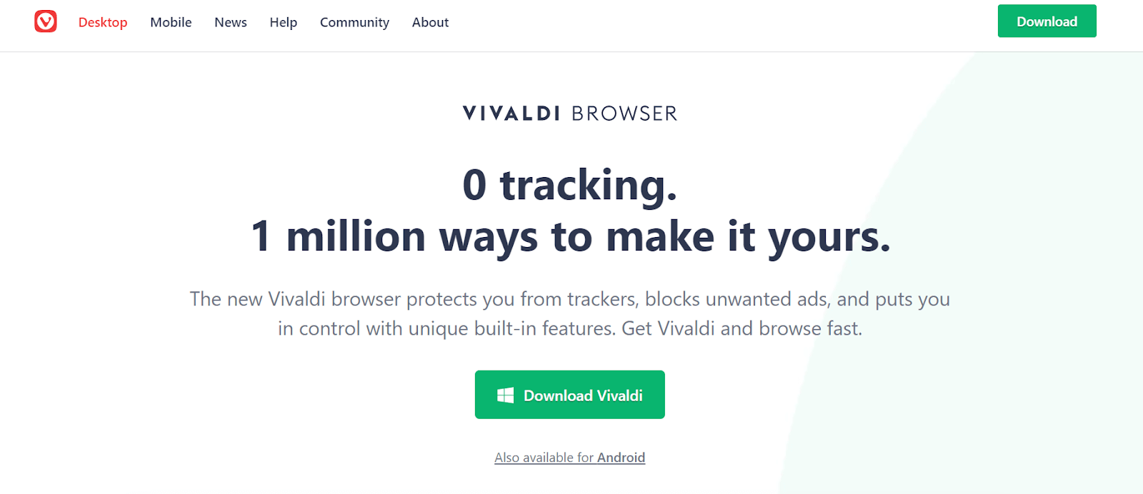 Vivaldi - Best Lightweight Browser