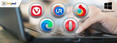 10 Best Lightweight Browser for Windows 10, 8, 7 PC