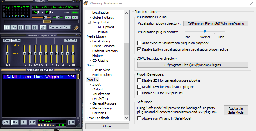 CDG plug-in for Winamp
