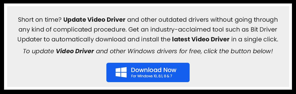 update video driver