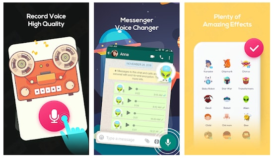 Voice Changer Voice Recorder- super voice editor for Discord