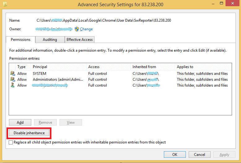 Software Reporter Tool Folder - 1