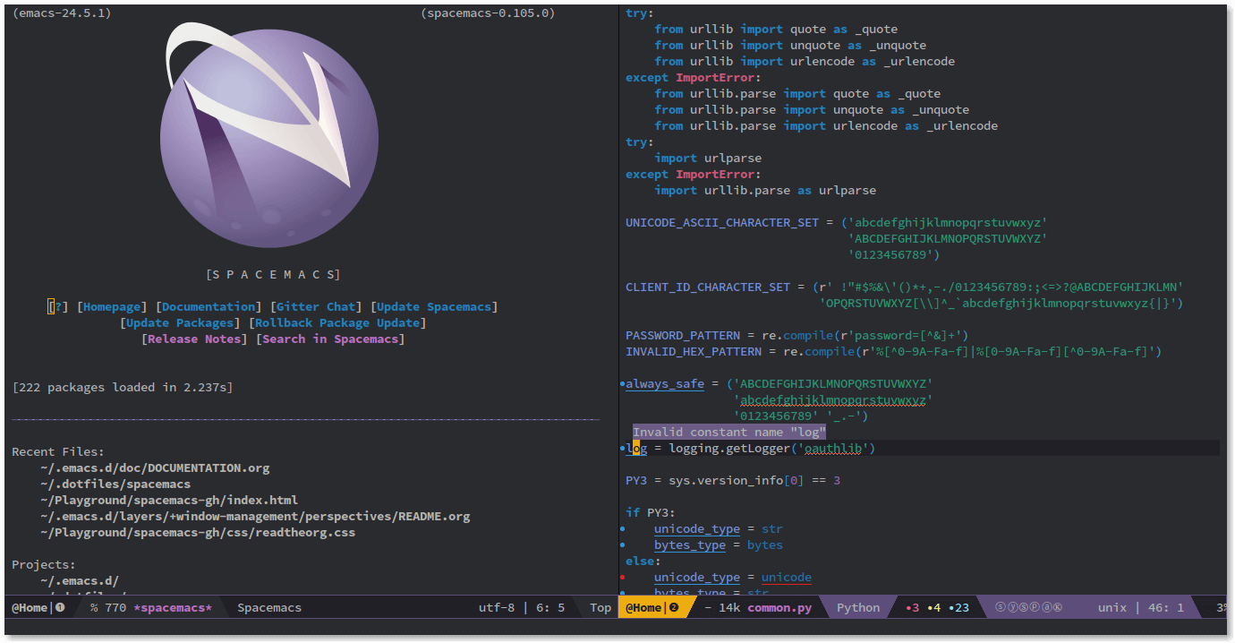 Spacemacs - best Latex editor tool