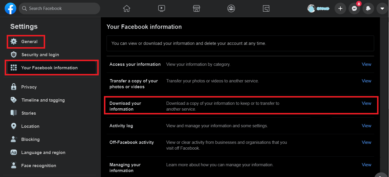 how to recover permanently deleted facebook messages on pc
