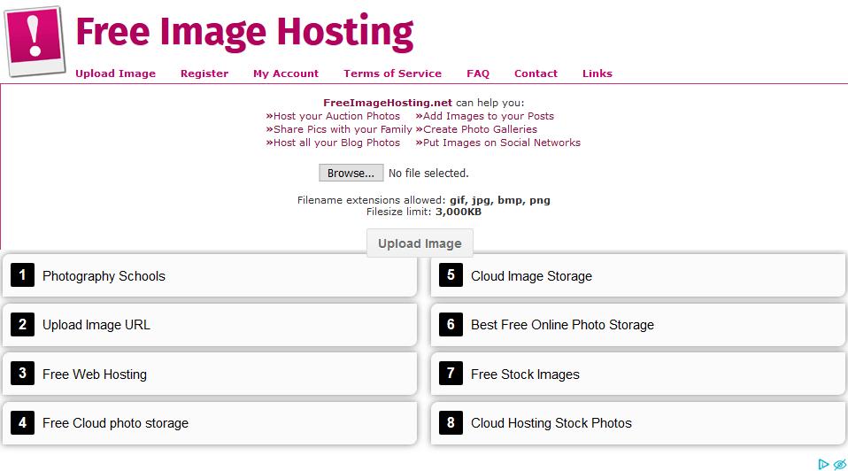 Best Photobucket alternative for Free Image Hosting