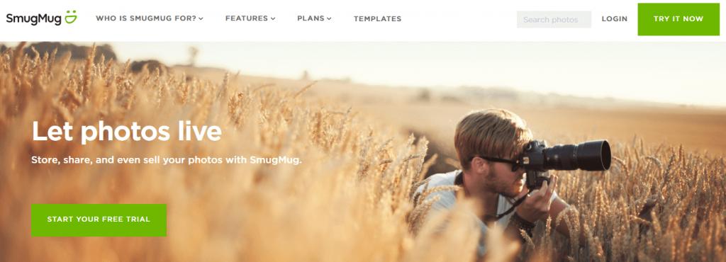 SmugMug powerful website for photo hosting