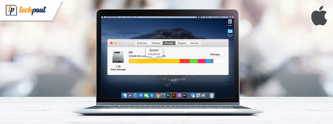 How To Clear or Reduce System Storage On Mac