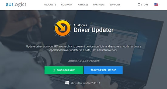 Auslogics Driver updater - Update drivers on your PC