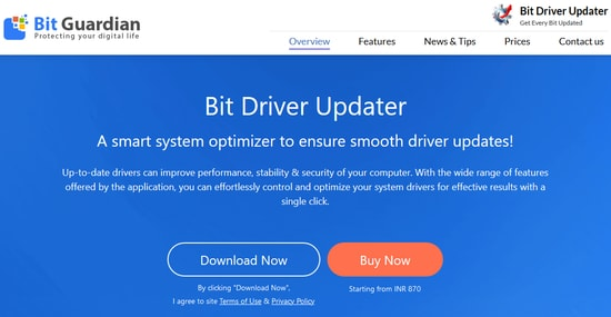 Bit Driver updater - Automatic driver updater and Installer for Windows 10 8 7