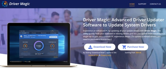 Driver Magic - Update and Fix all Outdated Missing Drivers