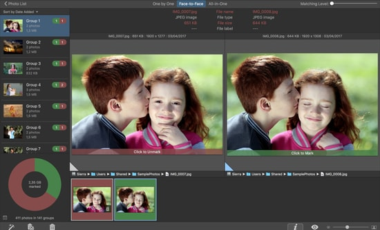 PhotoSweeper duplicate photo remover app for Mac