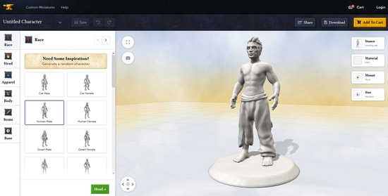 Anvl.co - cheaper alternative to hero forge