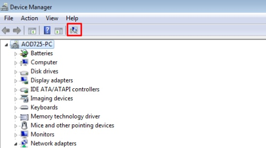 Reinstall drivers of Brother Printer