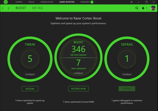 Razer Cortex: Game Booster (A Globally Renowned Game Optimizer For Windows)