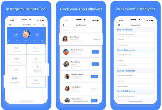 Insights+ IG Follower Reports