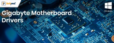 Download, Install and Update Gigabyte motherboard drivers for Windows 10