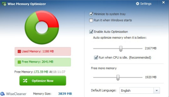 Wise Memory Optimizer (A Beautifully Designed RAM Cleaner Software for Windows)