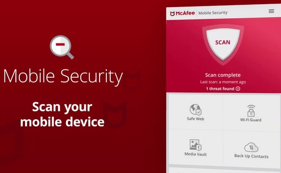 McAfee Mobile Security Antivirus App for iPhone