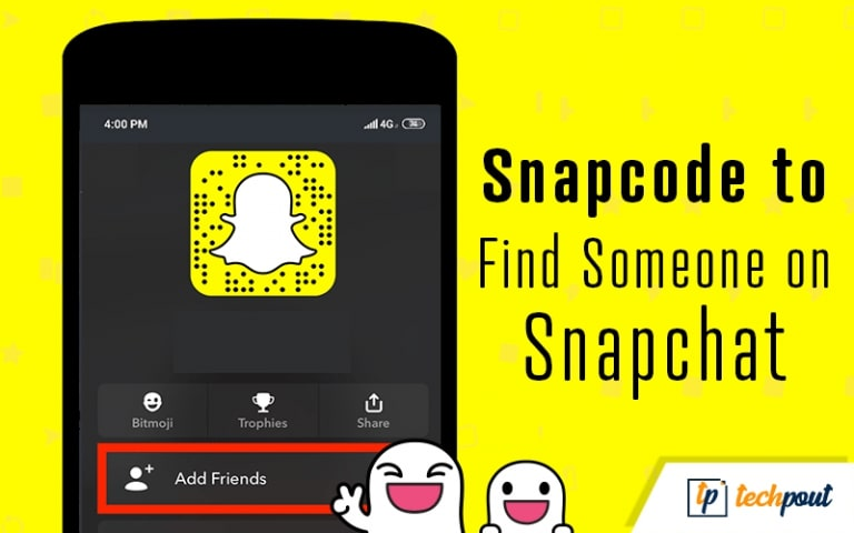 Use Snapcode to Find Someone on Snapchat
