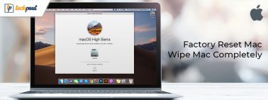 How to Factory Reset Mac to Factory Settings | Wipe Macbook Completely
